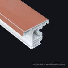 Perfil uPVC para janelas de materiais de construção