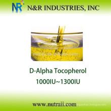 Huile de vitamine E naturelle D-alpha Tocopherol 1000IU