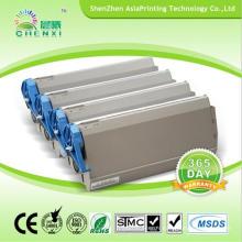 Cartouche de toner couleur imprimante laser pour Oki C7300