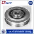 Fundición fundición personalizar rodamientos de bolas piezas de fundición de precisión de acero inoxidable