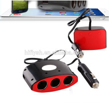 LY-0612 (104) Trending hot products 3 welly y 2 USB socket car cigarette charger (Certificado CE)