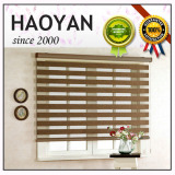 electric rolling motorized double layer blinds for office