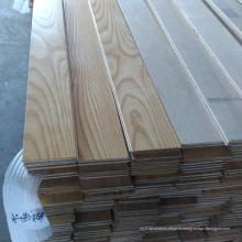 Plancher de bois d'ingénierie multicouche de cendre blanche de surface lisse