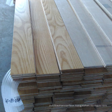 Smooth Surface White Ash Multi-Layer Engineered Wood Flooring