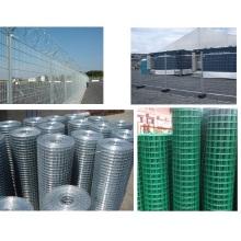 Treillis métallique de clôture en acier