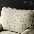 Sofá moderno de la tela del masaje de la silla del eslabón giratorio del solo asiento