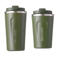 Waketm Wholesale Paper Sublimation Custom Printed Logo Travel Double Wall Stainless Steel Tea Coffee Cup