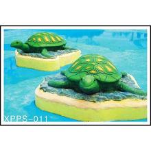 Custom Water Turtle Aqua Play Water Playground, Spray Park Equipment
