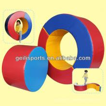 Jouet éducatif pour enfants avec anneau circulaire en mousse éponge