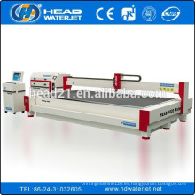 Máquina de corte popular del corte del tamaño 4m * 2m máquina de corte del waterjet