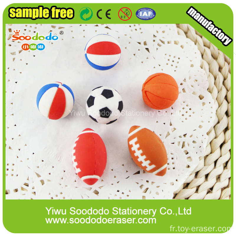 Ball Shaped Eraser, Wholesale Promotion stationery