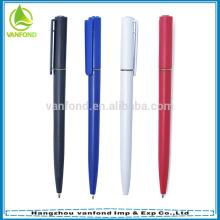 Mais barato quente vendendo plástico hotel caneta com multi cor para a seleção