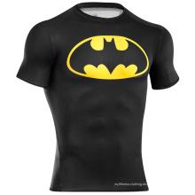 China-Großverkauf kundenspezifisches förderndes komprimiertes T-Shirt