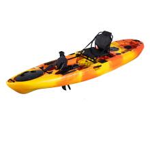 no inflatable canoe/kayak,1 paddler sit on top fishing kayak with pedal