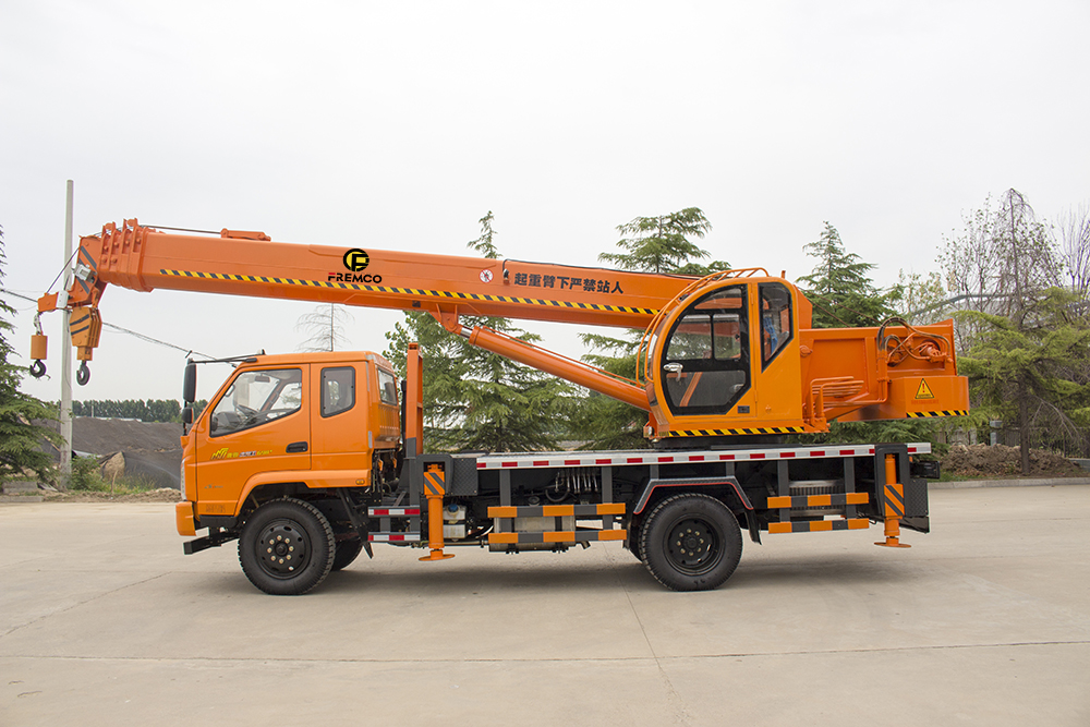 T-King Chassis Wheel Crane