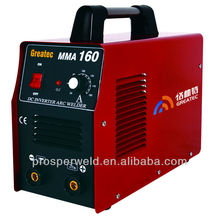 Most popular hot sell MMA-160 single phase arc welding machine