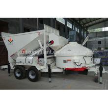 Мини передвижная бетоносмесительная установка 10м3 / ч для продажи с патентом CE