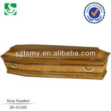 Zinco agradável estilo europeu lida com forro profissional para fabricante de caixão