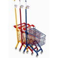 Hot Sale Lovely baby shopping cart/supermarket child shopping cart