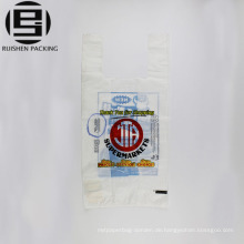 Recycle weiße T-Shirt Verpackungsbeutel