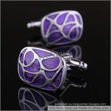 VAGULA moda camisa púrpura gemelos (Hlk31612)