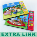Alibaba Book Product Fruit smell Type and Soft Cover Book Cover sound Children 3D books