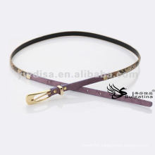 1cm Fashion Skinny Snake Leather Belts Womens Leather Snake Belts BC4622G-2