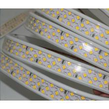 Ultra Super Bright 180leds/m warm white strip lighting 220v led strip 2835