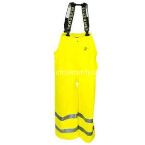 Unisex Reflective High Visibility Reversible Bib Pants