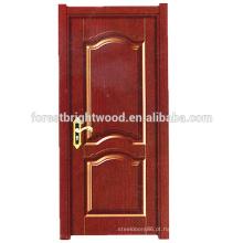Porta francesa da porta de madeira da forma dos produtos novos para a porta do balcão