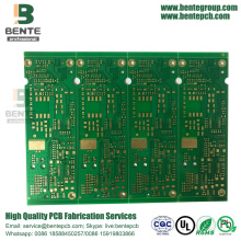 4 Lagen Multilayer PCB FR4 Tg150 1oz