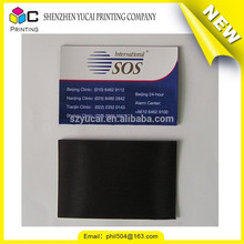 Eco-friendly offset printing luxury one color business card