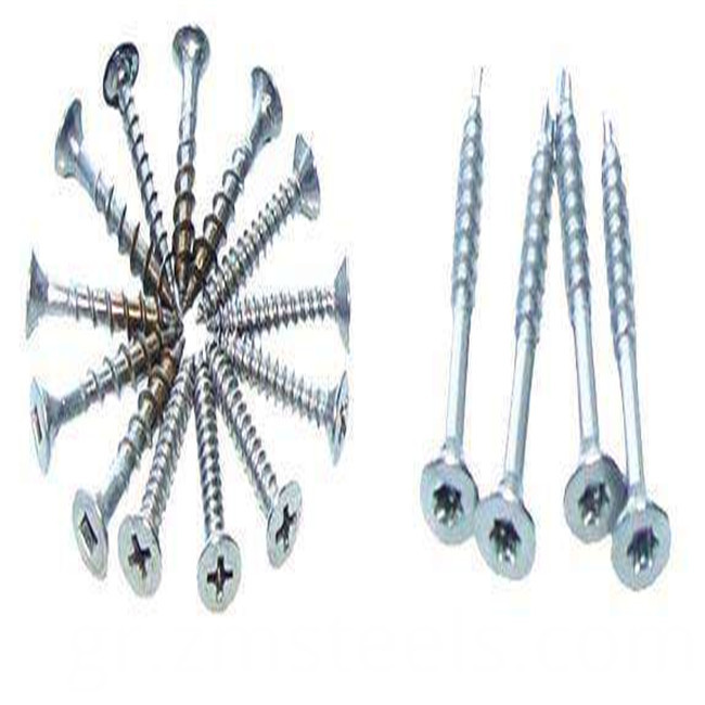 kind of screw nails types