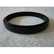 Schwarzer Gummi-Trommel-Dichtring, Fabrik Preis NBR FKM PU