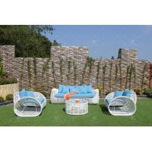 Eagle Collection - neueste Design Synthetische PE Rattan Wicker Outdoor Sofa Set 2017
