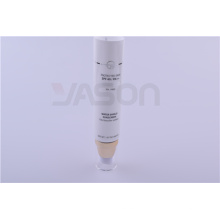 Pearly Cosmetic Plastic Packaging Airless Pump Tube