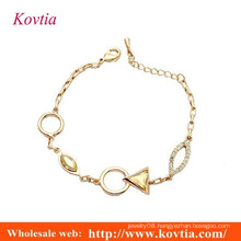 2016 hot sale gold anklet designs wholesale gold anklet jewellery