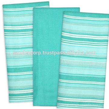 Toallas de cocina tejidas