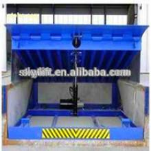 Nivelador de cais telescópico para armazém hidráulico