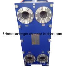 Intercambiador de calor de las boquillas del acero al carbono del vapor de la placa del acero inoxidable 316