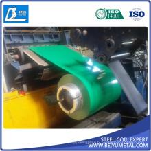 0.13-0.8mm ASTM A653 PPGI PPGL en acier enduit d'une première couche de peinture