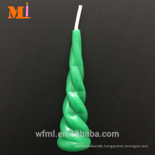 Speedy Delivery Dark Green Unicorn Horn Candle Cake Topper In Stock