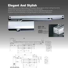 Ferme-porte robuste de type CE avec surface de pulvérisation, RDC-06A