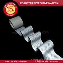 EN471 redondo agujeros reflexivo T/C de tela