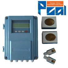 TUF-2000F fija la abrazadera ultrasónica en el medidor de flujo de agua / sensor de flujo de líquido