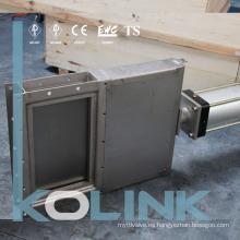 Válvula de compuerta neumática de guillotina