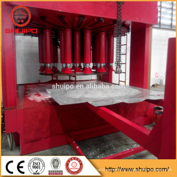 machine de fabrication de bout en aluminium