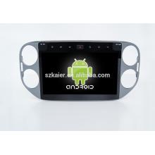 Usine directement! Quad core! Android 6.0 dvd de voiture pour VW Tiguan lecteur dvd de voiture avec écran Capacitif de 10 pouces + 360Degree