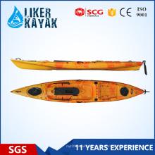 Liker Kajak sitzen auf der Oberseite Einzelne Fischen-Kajak-Großverkauf / Pedal-Fischen-Kajak