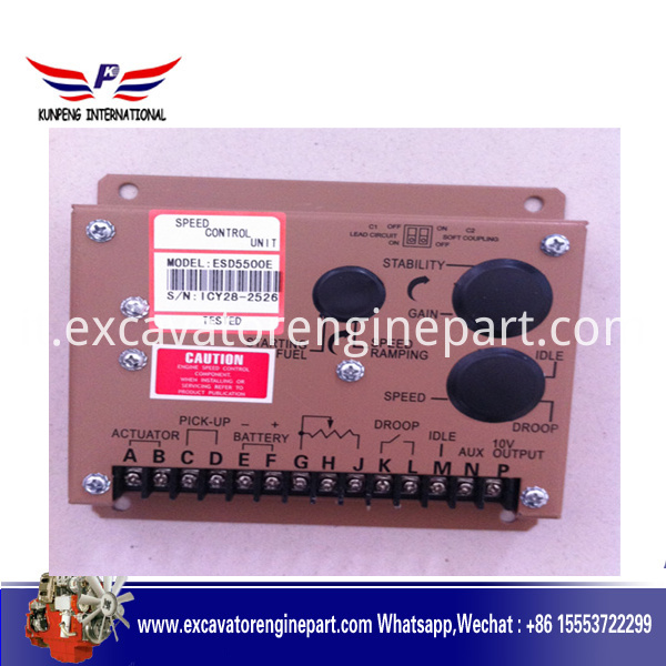 Esd5500 Diesel Engine Electronic Governor Of Generator